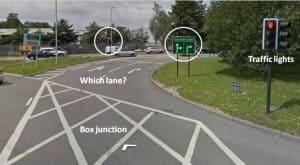 Bournemouth spiral roundabout